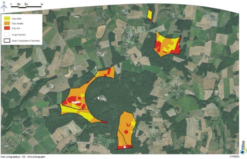 THEMA - Carte des enjeux ornithologiques